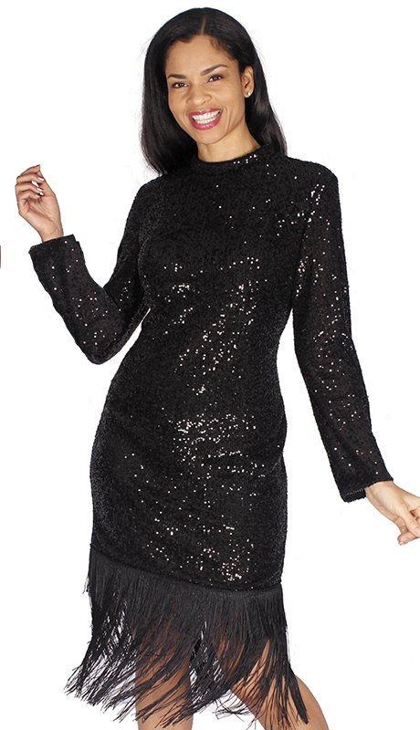 Diana Couture 8564-BLK