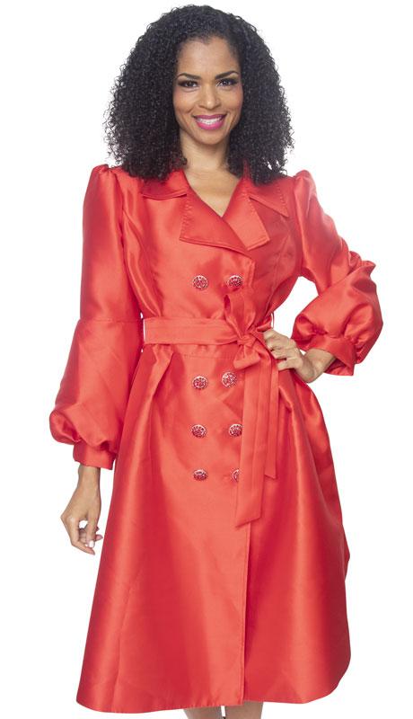 Diana Couture J2013-RE ( 1pc Silk Ladies Sunday Dress )