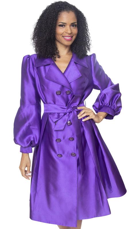 Diana Couture J2013-PU ( 1pc Silk Ladies Sunday Dress )