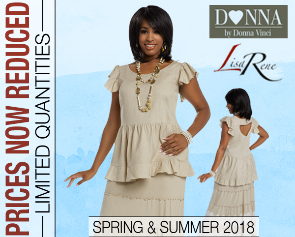 Donna By Donna Vinci And Lisa Rene Spring And Summer Sets 2018