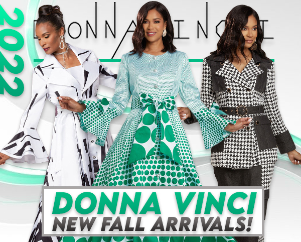 All Donna Vinci Suits For Church Fall And Holiday 2019