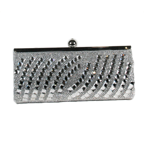 Designer Hand Bag EB 7539-SI
