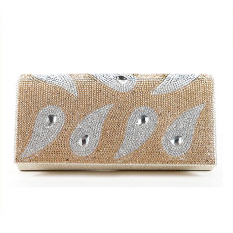 Designer Hand Bag EB 7540-GO