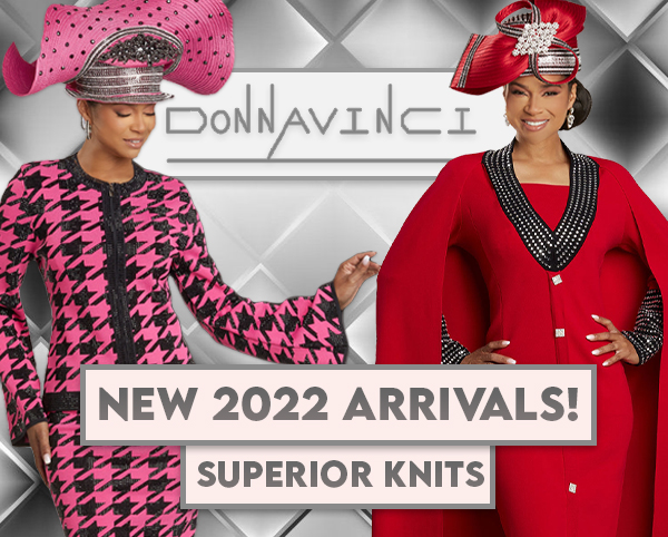 Donna Vinci Knit Church Suits Spring And Summer 2021