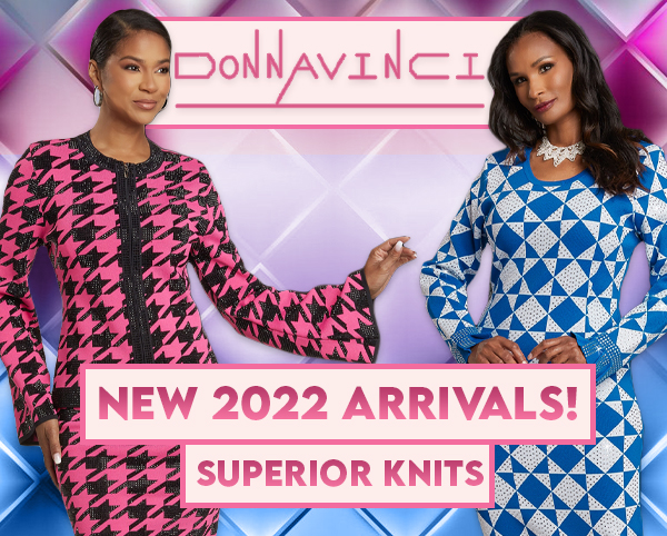 Donna Vinci Knit Church Suits Spring And Summer 2019