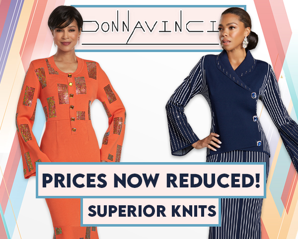 Donna Vinci Knit Church Suits Spring And Summer 2020