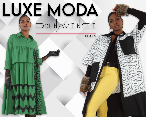 Luxe Moda By Donna Vinci Fall & Holiday 2021