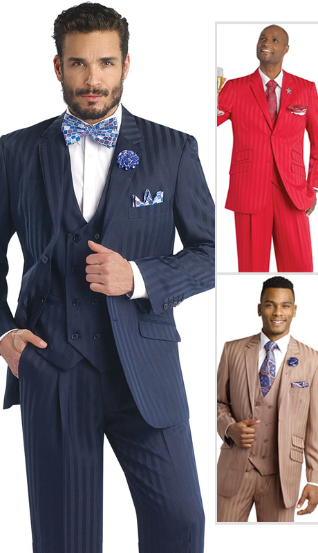 Mens Suits By EJ Samuel M2687-NA-CO