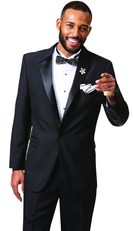 EJ Samuel STUX-101-BL ( 2pc Mens Tuxedo )