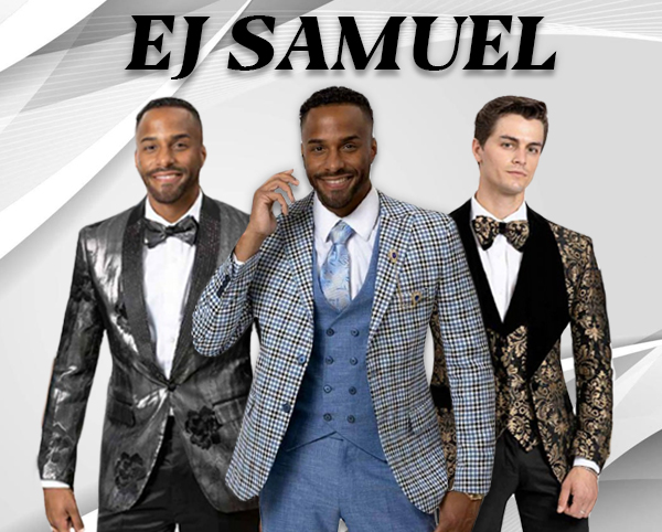 EJ Samuel Mens Suits And Blazers Spring And Summer 2018