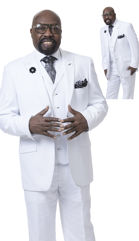 EJ Samuel M2688 ( 3pc Mens Fashion Suit )