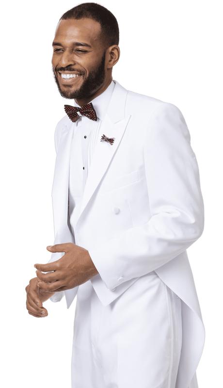 EJ Samuel STUX-107-WH ( 2pc Mens Tuxedo )