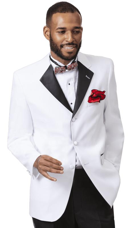 EJ Samuel TUX-113-WB ( 2pc Mens Tuxedo )