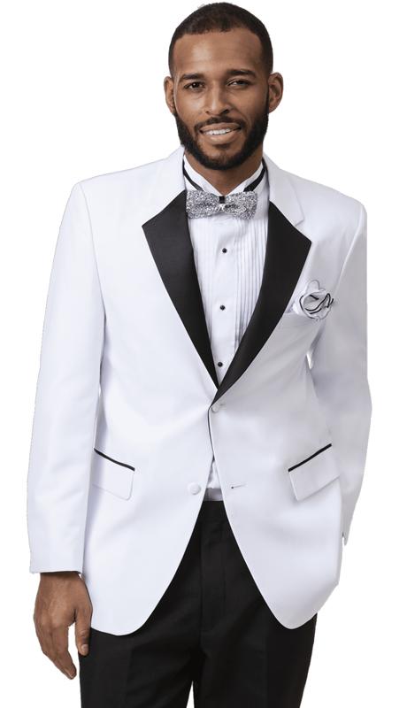 EJ Samuel TUX-112-WB ( 2pc Mens Tuxedo )