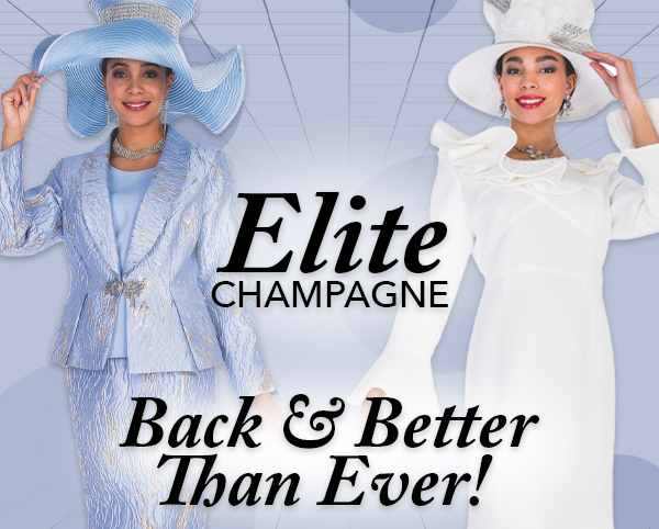 Elite Champagne Ladies Church Suits And Dresses Spring And Summer 2019