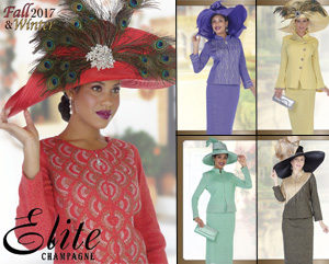 Elite Champagne Ladies Church Suits Fall And Holiday 2017