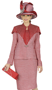 Elite Champagne 4656 ( 2pc Exclusive Knit Womens Jacket And Dress For Church With Rhinestone Embellishment And Starburst Clasp )