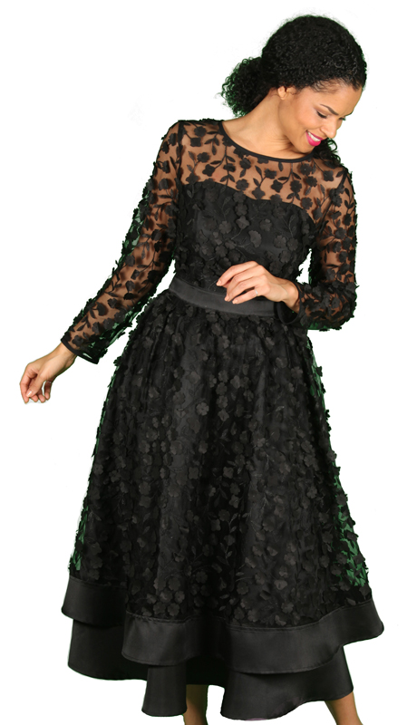 Diana Couture 8467-BLK