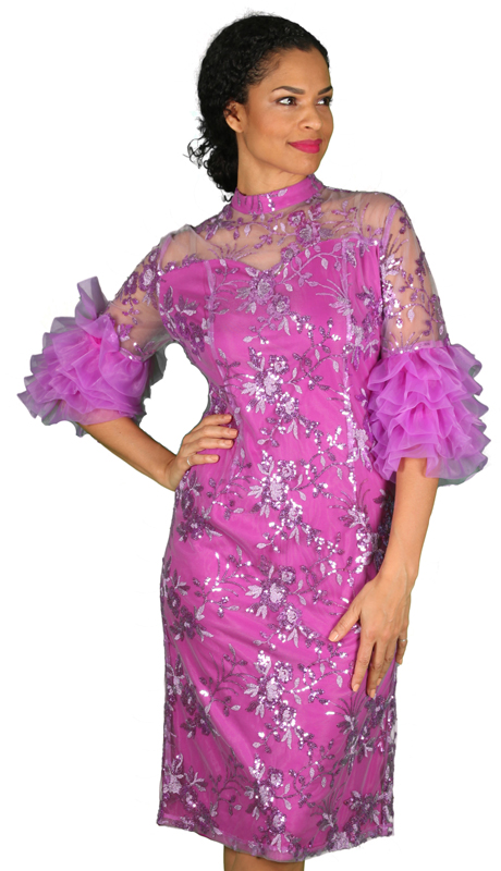 Diana Couture D2016-L ( 1pc Novelty First Lady Dress )