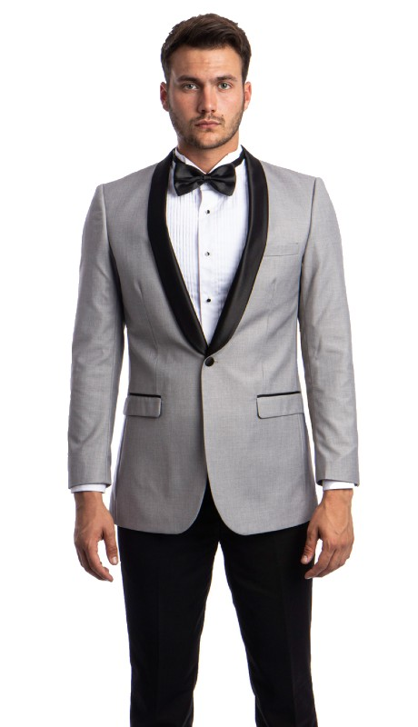 MJ118S-08A ( 1pc Mens One Button Slim Fit Jacket  With One Chest Pocket And Two Front Pocket With Flap closure )