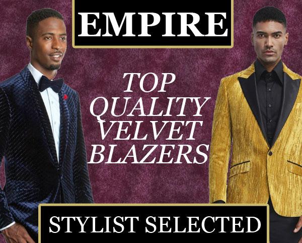 Empire Velvet Blazers