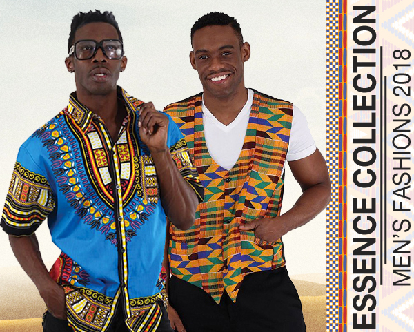 Essence Collection Mens Spring and Summer African Inspired Garments 2018