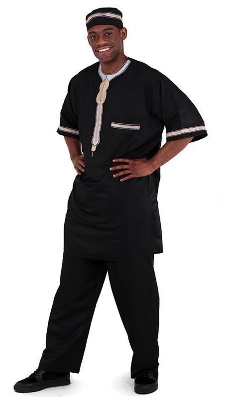 Essence Collection C-M083-BLK ( Popular 3pc mens garment. 100% cotton. )