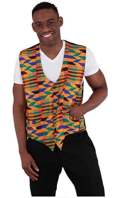 Essence Collection C-U173 ( Hand woven authentic kente cloth from Ghana. 100% cotton. )