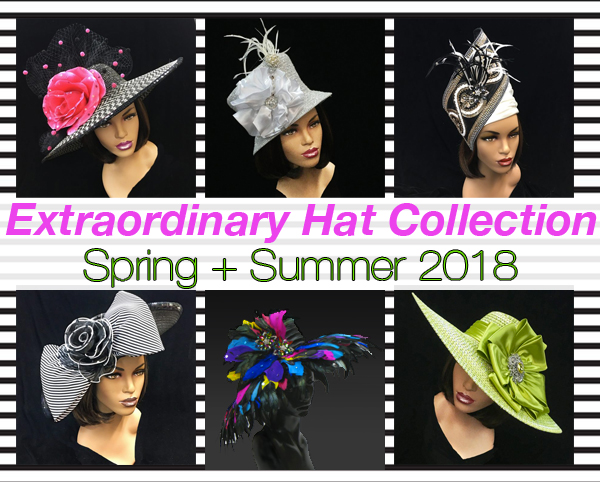 Extraordinary Hat Collection Spring Edition