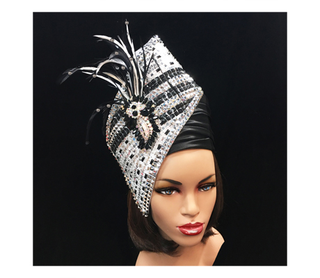 1573X Agra Redux  ( Our Most Popular Headpiece Restyled )
