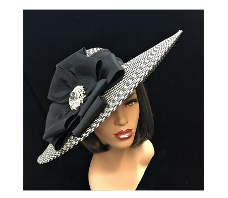 2259 Misty ( Classic Derby Hat With Signature Bow )