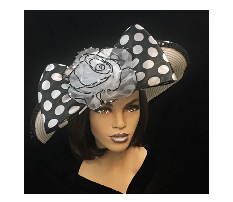 2265 Fairwinds (Fashionable Profile Brim With Bow And Rosette )