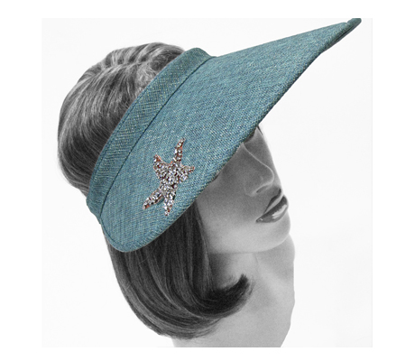 V1527 Starfish ( Sun Visor With Starfish Embellishment )