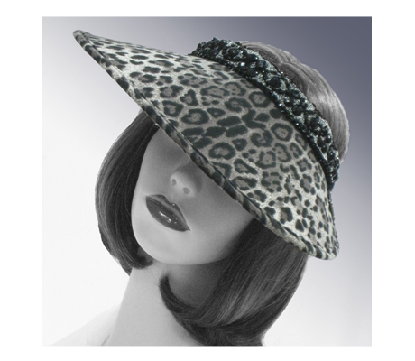 V1807 Shananay ( Sun Visor With Animal Print )