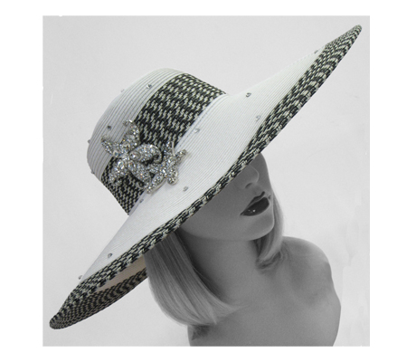 1668 Cousteau ( Poolside Hat With Starfish )