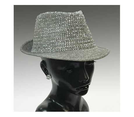 2138 Frankie Fedora ( Crystal Crown Fedora )