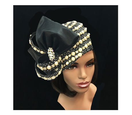 2188 Adora ( Exquisitely Adorned Jewel Bubble Hat )