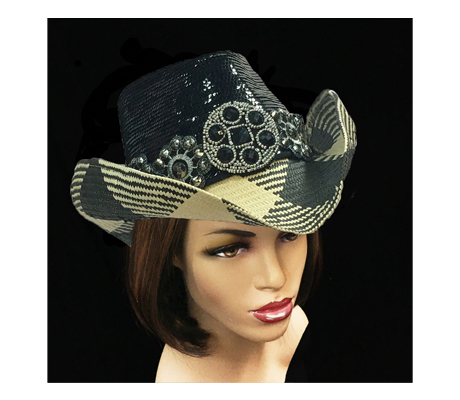 SC2190 Chihuahua ( Sequin Cowboy With Beaded Conchos )