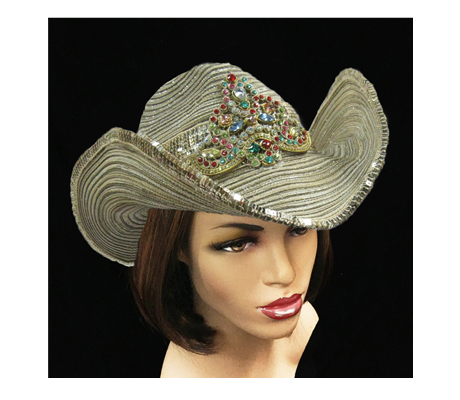 SC2088 Salamaca ( Cowboy With Filigree Jeweled And Embroidered Applique )