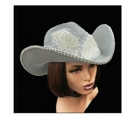 SC1711 Lina Cowboy ( Cowboy With Faux Pearl Leaves )