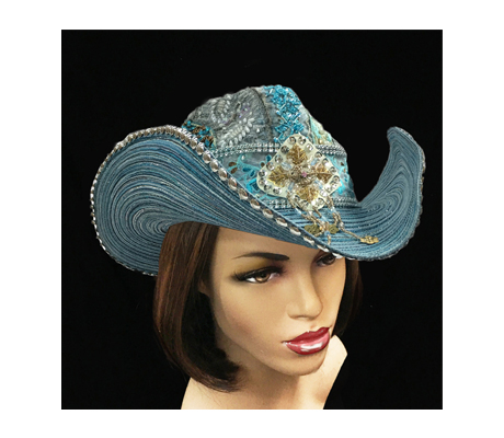 SC1518 Serengeti Cowboy ( Cowboy With Embroidered Beaded Crown )