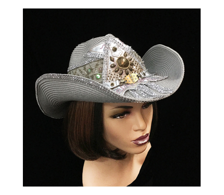 SC2175 Tequila ( Concho Studded Cowboy Hat )