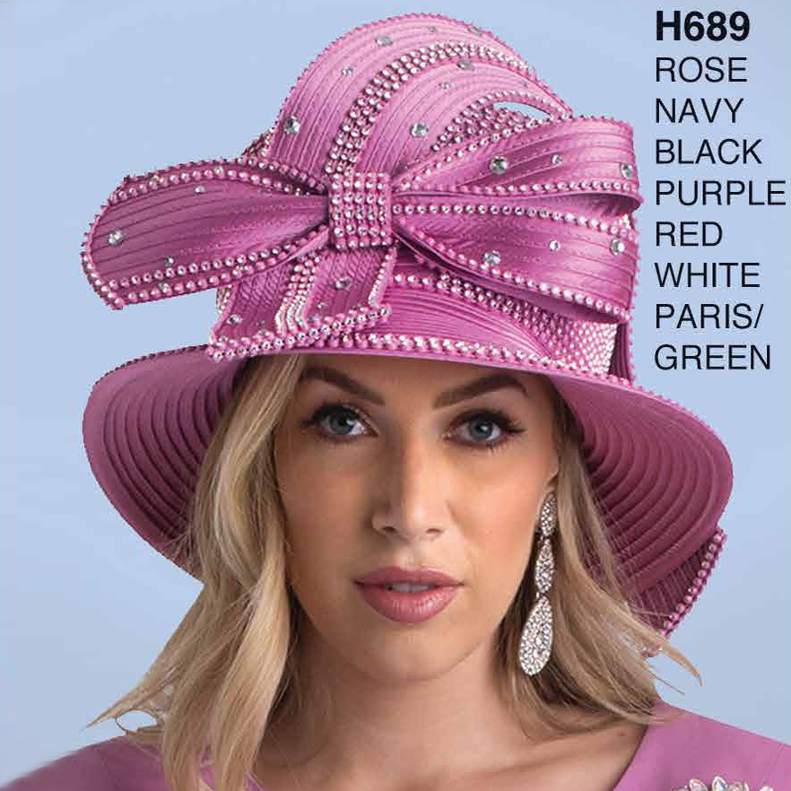 Lily And Taylor Hat H689-CO