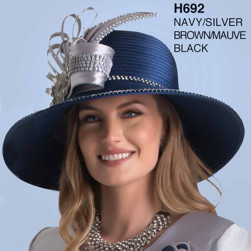 Lily And Taylor Hat H692