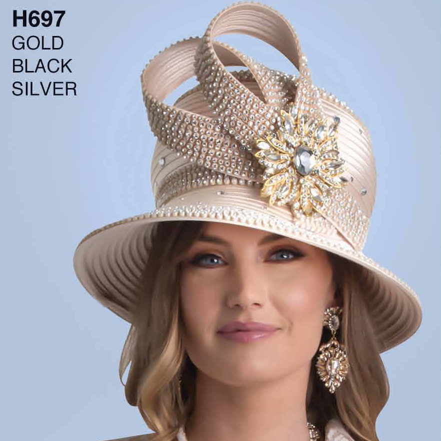 Lily And Taylor Hat H697