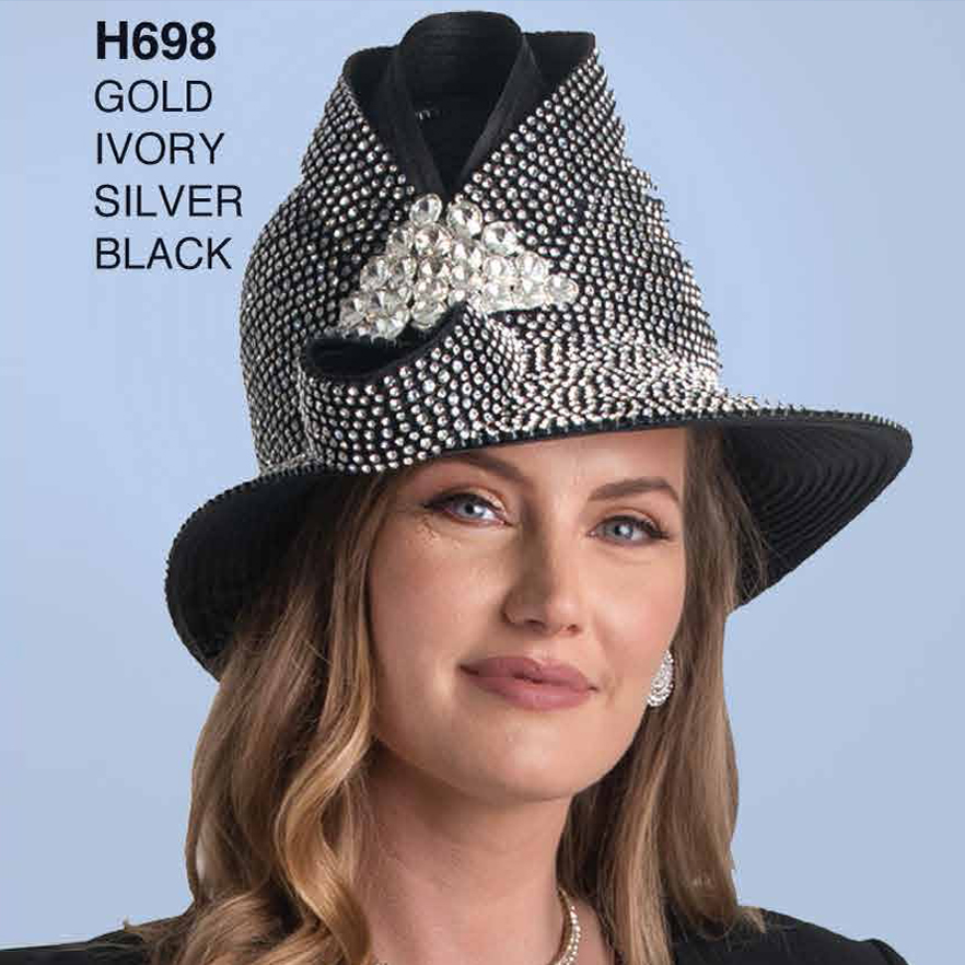 Lily And Taylor Hat H698