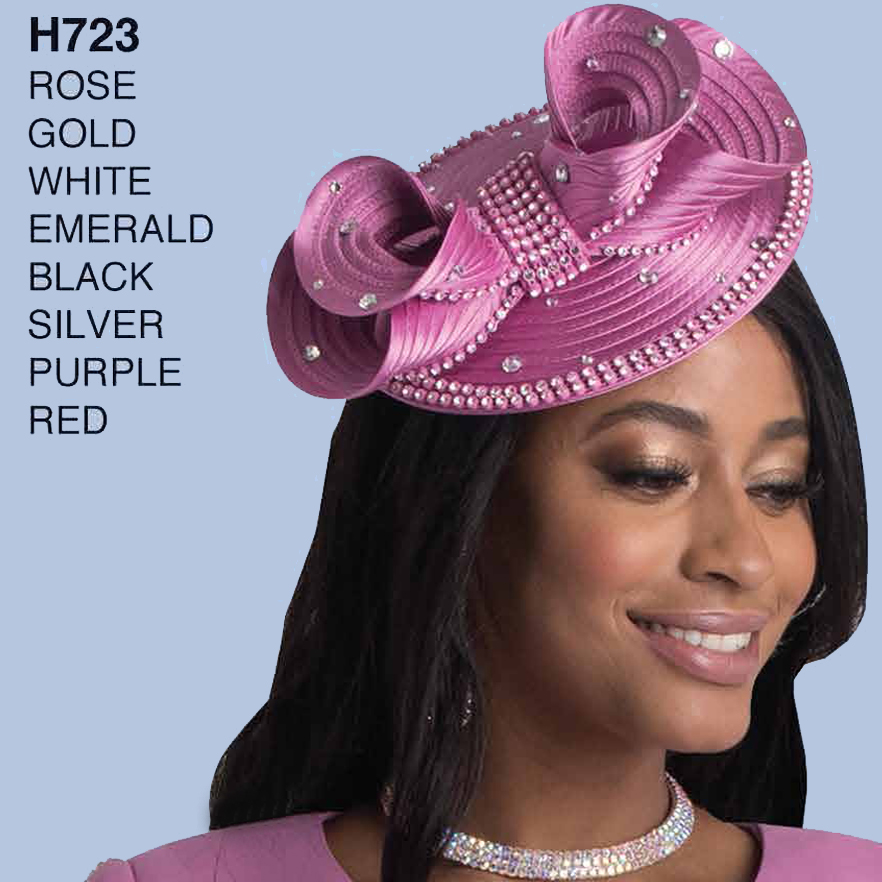 Lily And Taylor Hat H723