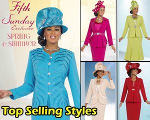 Fifth Sunday Ladies Church Suits Promotional