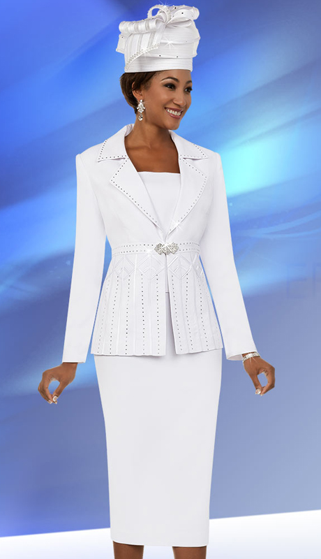 Fifth Sunday 52871-W ( 2pc Notch Lapel Womens Church Suit )