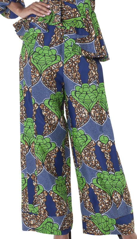 For Her Collection 8669-NL ( 1pc Print Pant )